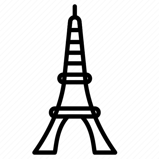 Eiffel, tower, monument, landmark, place icon - Download on Iconfinder