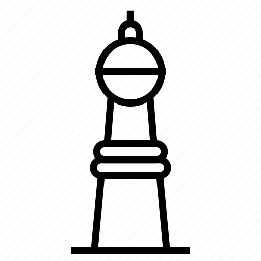 Tower, landmark, monument, building icon - Download on Iconfinder