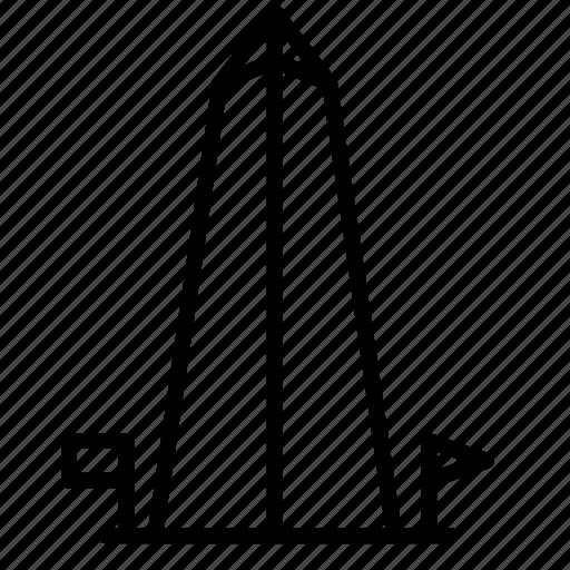 Washington, tower, place, landmark icon - Download on Iconfinder