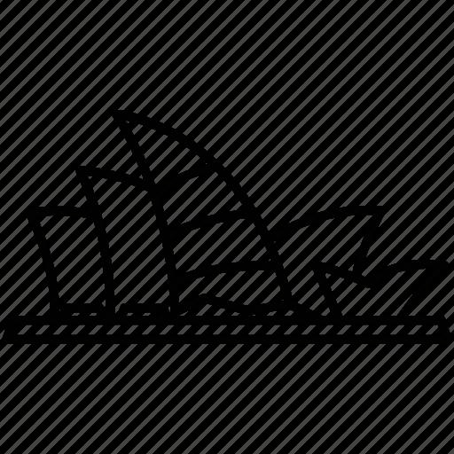 asiapacific, landmark, sydney, sydneyoperahouseaustralia icon