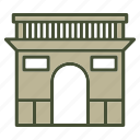 landmarks, paris i, archaeological sites, france