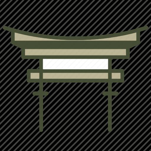 Archaeological sites, famous, itsukuhima, landmark i icon - Download on Iconfinder