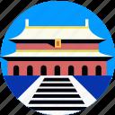 china, city, forbidden, landmark, porcelain, scenery icon