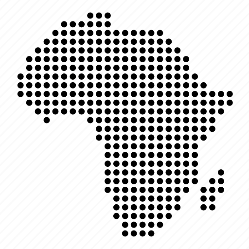 africa map icon