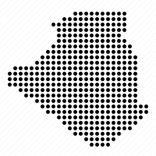 algeria, algerian, country, location, map icon