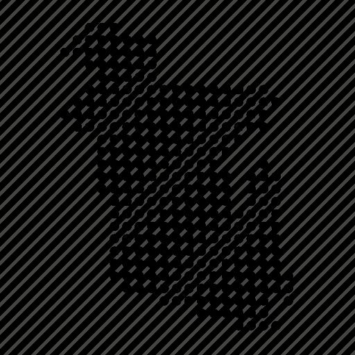 bangla, bangladesh, country, location, map icon