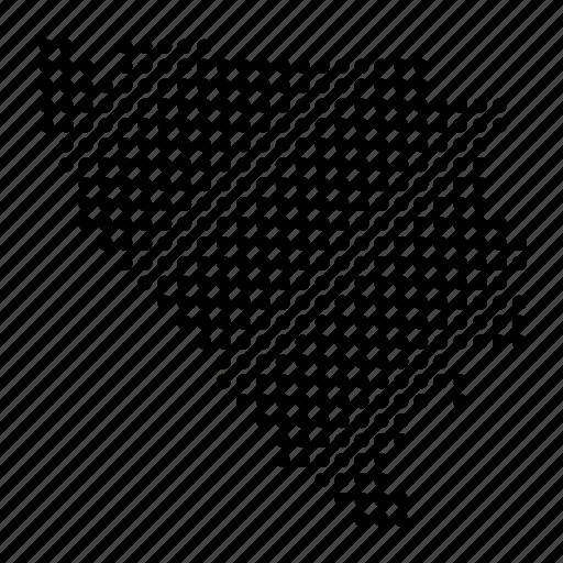 bosnia, bosnian, country, herzegovina, location, map icon