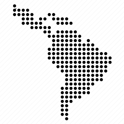 World maps dots by vignesh p latin america location map region icon gumiabroncs Images