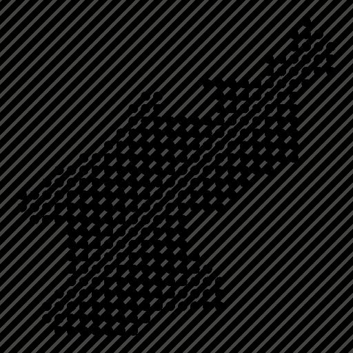 country, map, north korea, north korean icon