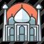mahal, monument, signatures, taj, world icon
