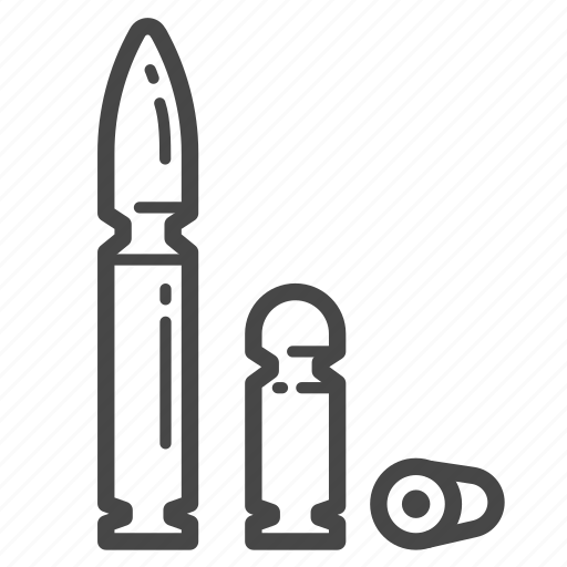 bullets, war, weapon, world icon
