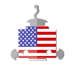 bot, flag, robot, telegram, united states of america, us, usa icon