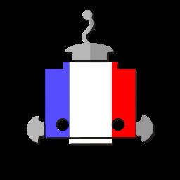 bot, flag, fr, france, french, robot, telegram icon