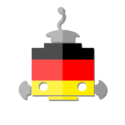 bot, de, deutschland, flag, germany, robot, telegram icon