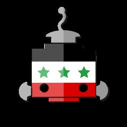 bot, flag, iq, iraq, robot, telegram icon