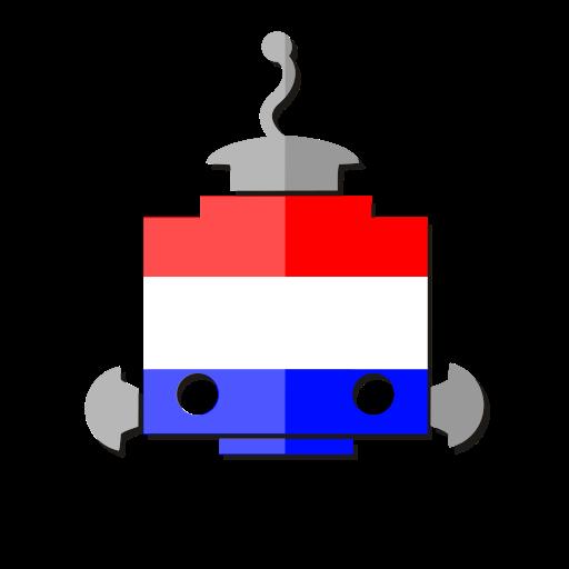bot, flag, holland, netherlands, nl, robot, telegram icon