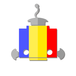 bot, flag, ro, robot, romania, telegram icon