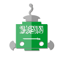 bot, flag, robot, sa, saudi arabia, telegram icon