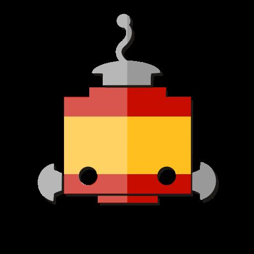 bot, es, espana, flag, robot, spain, telegram icon