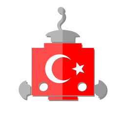 bot, flag, robot, telegram, tr, turkey icon