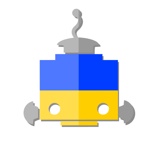 bot, flag, robot, telegram, ue, ukraine icon