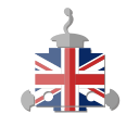 bot, flag, robot, telegram, uk, united kingdom icon