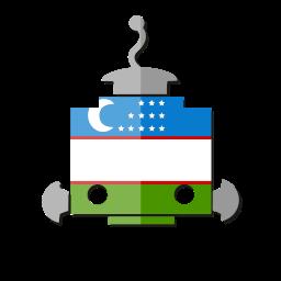 bot, flag, robot, telegram, ub, uzbekistan icon