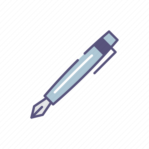 lux, pen, traditional, writer icon