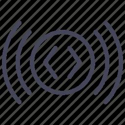 automobile, blinker, blinking, cars, signal, wsd icon