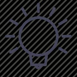automobile, bulb, cars, idea, lights, wsd icon