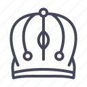 castle, crown, head icon