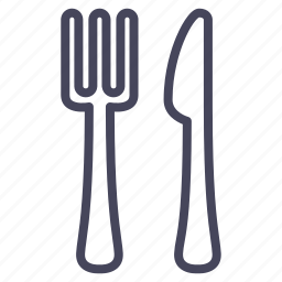 cutlery, dinner, eating, expenses, lunch icon