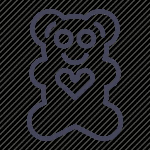 expenses, kids, teddy, teddy bear, toy icon