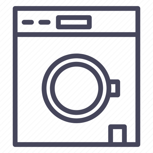 clothes, expenses, linen, wash, washing machine icon