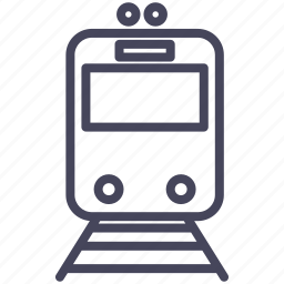expenses, train, tram, tramway, transportation icon