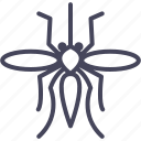 bug, insect, insects, mosquito, pest icon