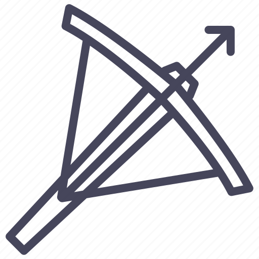 age, crossbow, knight, soldier, war, warrior, weapon icon