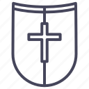 age, guard, knight, protection, secure, shield, war icon