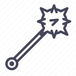 age, knight, military, soldier, war, warrior, weapon icon