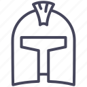 age, helmet, knight, protection, secure, war, warrior icon