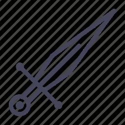 age, knight, sword, war, warrior, weapon icon