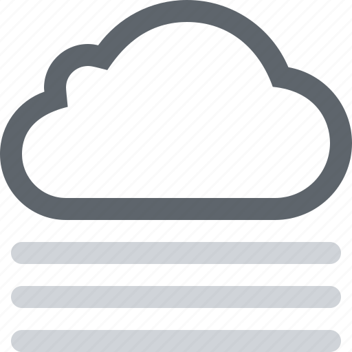 cloud, cloudy, dust, fog, foggy, haze, mist, weather icon