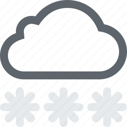 blizzard, cloud, cloudy, cold, frost, frozen, heavy, snow, storm, weather, winter icon