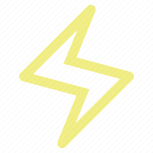 bolt, charge, electric, electricity, energy, fast, lightning, power, quick, shock, spark, storm, thunder, thunderstorm, weather icon