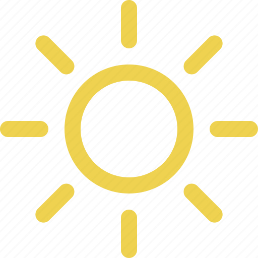 bright, calendar, clear, day, daytime, forecast, solar, sun, sunlight, sunny, sunshine, weather icon