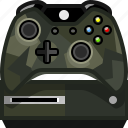 camo, console, controller, gamer, play, xbox, yumminky icon