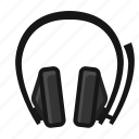 console, gamer, handsfree, headphones, play, xbox, yumminky icon
