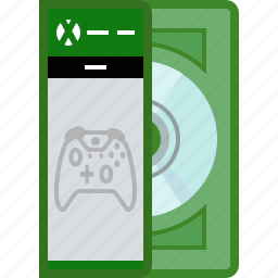 console, disc, game, gamer, play, xbox, yumminky icon