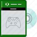 console, controller, disc, game, play, xbox, yumminky icon