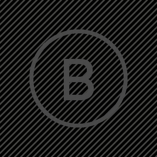 b button, controller, one, xbox icon